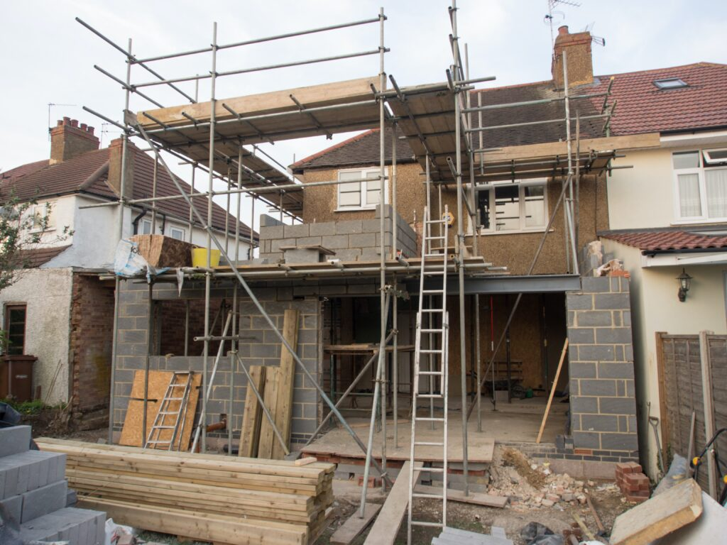 Constructing residential home